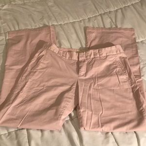 Victoria's Secret- Pink chinos size 8 long